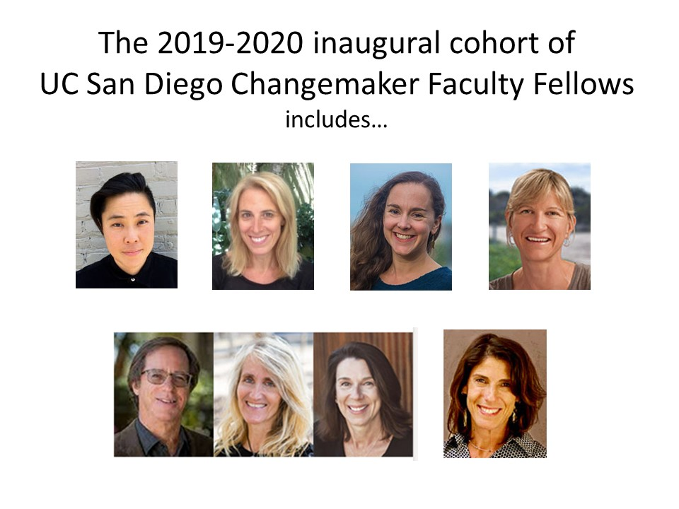 Photos of 2019-2020 Changemaker Faculty Fellows